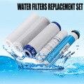 5 Stage RO Omgekeerde Osmose Filter Vervanging Waterzuiveraar Cartridge Apparatuur Met 75/100/125GPD Membraan Water Filter kit
