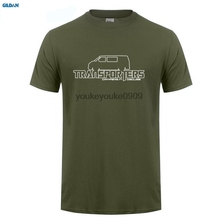 GILDAN  Transporters Campers In Disguise T-Shirt - T4 Tag Van Geschenk Fur Vater New Fashion MenS T Short Sleeve