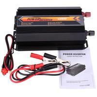 1200W Max 600W Solar Power Inverter DC 12V to AC 220V Modified Sine Wave Digital Display Dual USB Converter Supply Car Auto