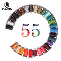 WUTA NEW 0.55mm 90m Leather Sewing Round Waxed Thread Polyester Hand Sewing Line Leather Work Cord Craft Tool 28Colors Available