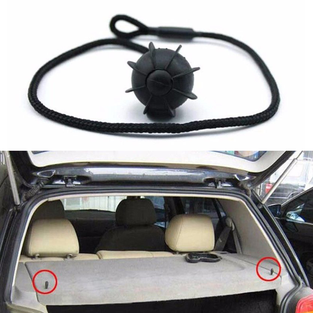 Car Styling Trunk Back Lanyard Holding Small Parcel Shelves String With Ball Inner Cover Line Accessories For VW Golf 6 GTI R20
