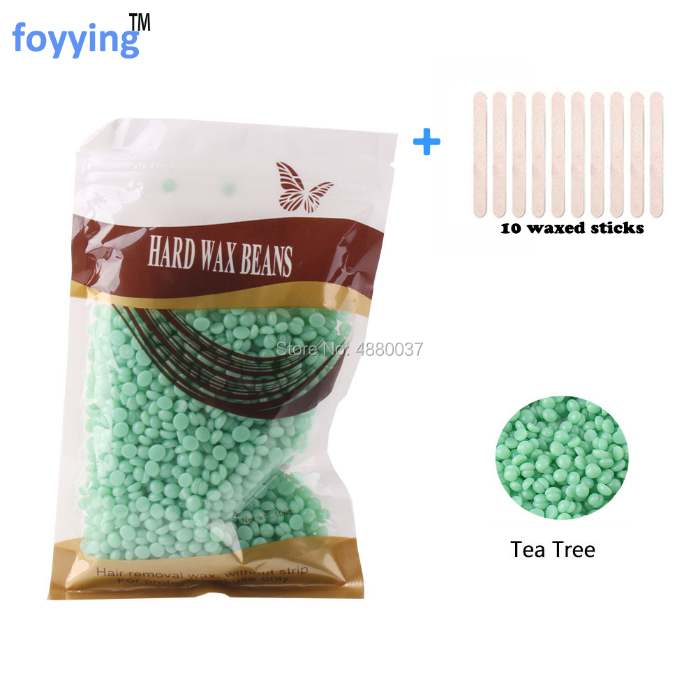 100g Lavender Scent Hand Painless Wax Beans Depilatory Wax Pellet Hot Film Hard Female Hair Removal No Strip Hard Wax Bead