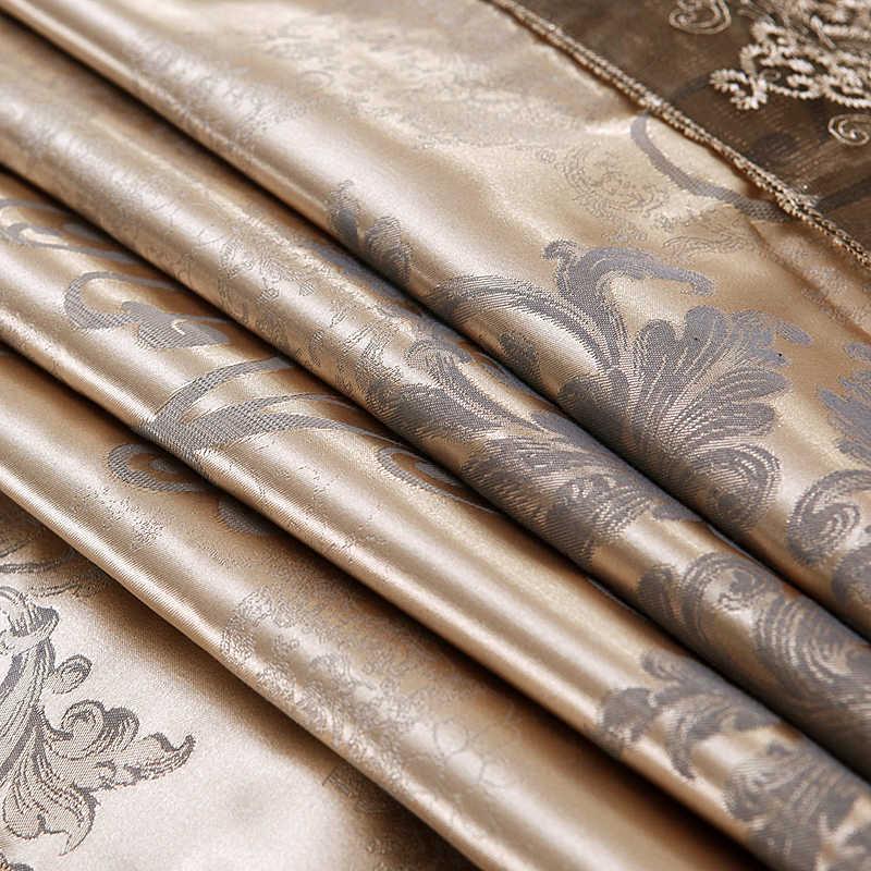 4 Pcs Saten lüks dantel yatak setleri kraliçe battal boy nevresim set yatak etek set yastık bedclothes52