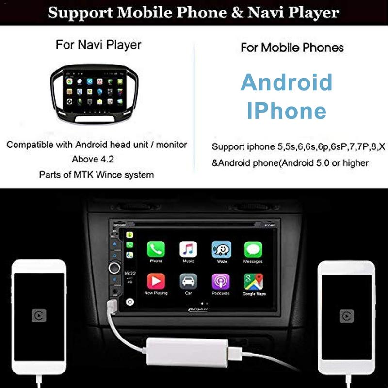 US $35 82 18% OFF|Carplay USB Dongle Fit For WinCE Apple IPhone And Android  Car Auto Navigation Player Vehicle Electronics Accessories-in Vehicle GPS