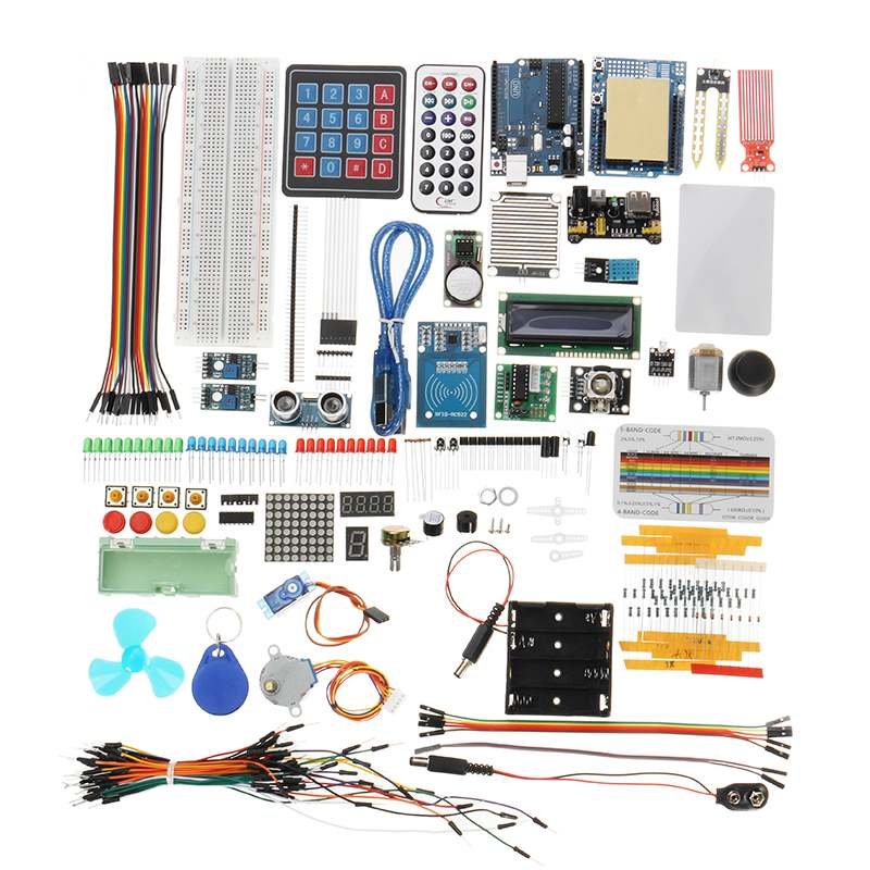 NEW DIY RFID Environment Monitoring Access Display Electronic Starter Kit Module For Arduino