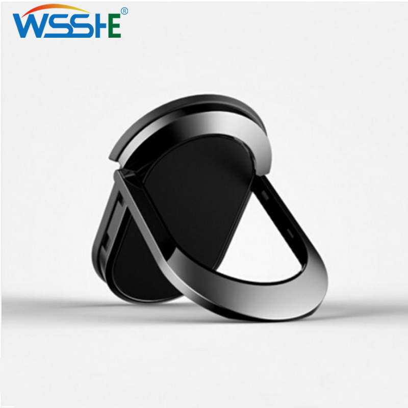 360 Degree Phone Finger Ring Holder Stand For Samsung Xiaomi IPhone X Smartphone Ring Holder Tablet Plain Car Mount Stand