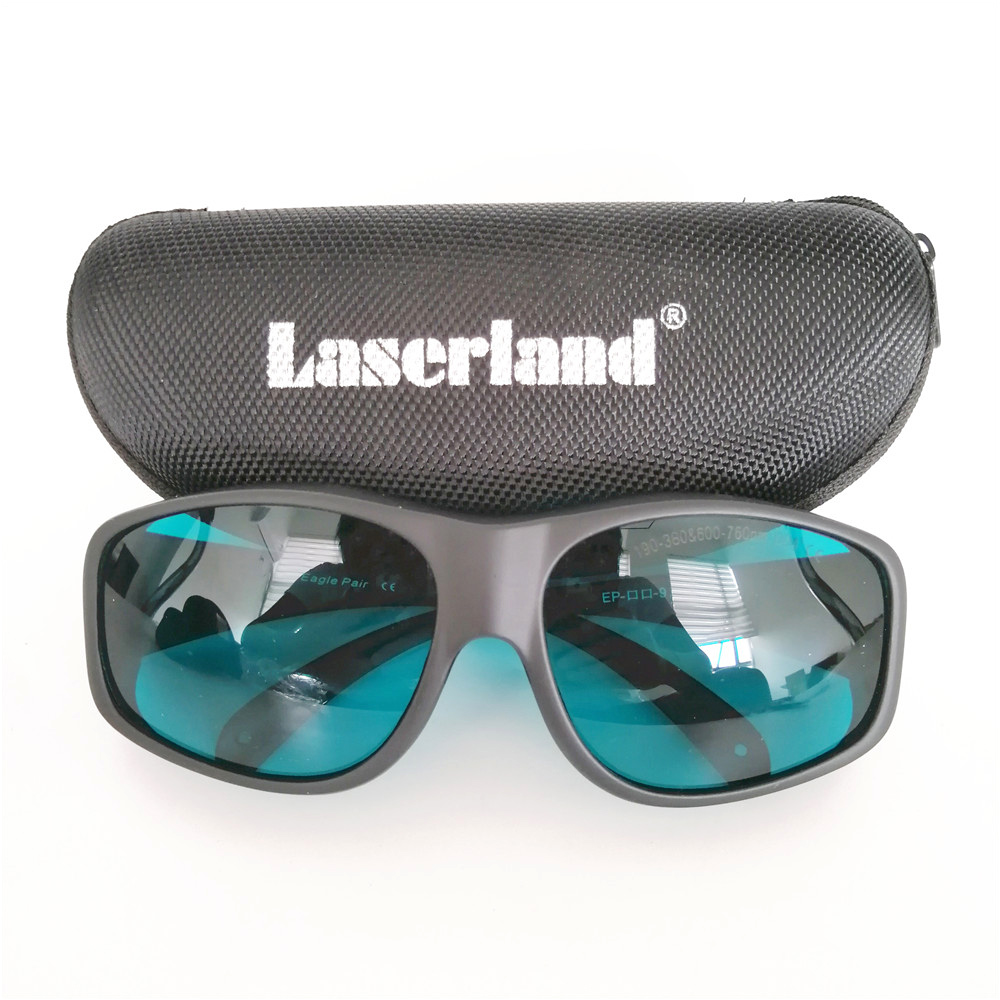 EP-2-9 190nm-355nm-380nm 600nm-650nm-760nm OD4+ IR Red Laser Protective Goggles Glasses ep 8 9 190nm 470nm uv 800nm 808nm 1700nm od5 ir laser protective goggles glasses