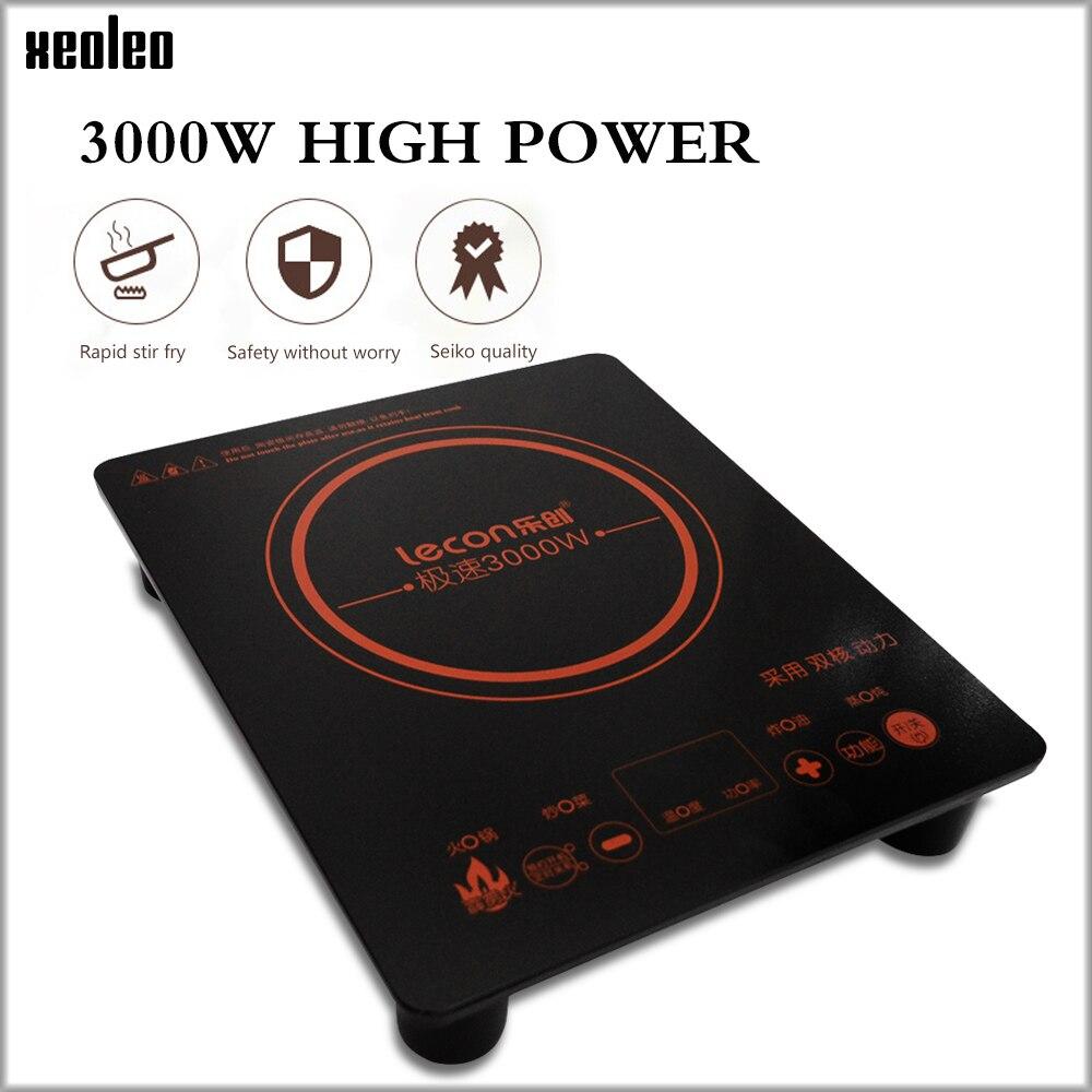 XEOLEO 3000 W piano cottura a Induzione Touchpad Elettromagnetica Fornello Riscaldamento con timing/Prenotazione Domestico fornace Elettromagnetica