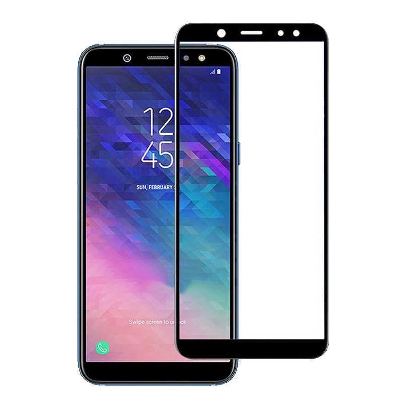 С уровнем твердости 9h закаленное Стекло для samsung Galaxy J6 J7 J8 2018 A8 A6 плюс 2018 J3 J5 J7 2017 J3 J5 J7 2016 Экран защитная пленка