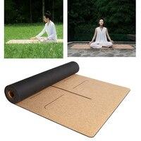 XIAOMI YUNMAI 4mm Natural Rubber Soft Cork Yoga Mats Non slip Exercise Sports Pilates Yoga Health Care Body Massage Relaxation