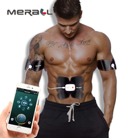 Ems Abs Stimulator Massager Smart Anti Cellulite Man Woman Health Care Massage Paste Piece Electric Physical Therapy Products