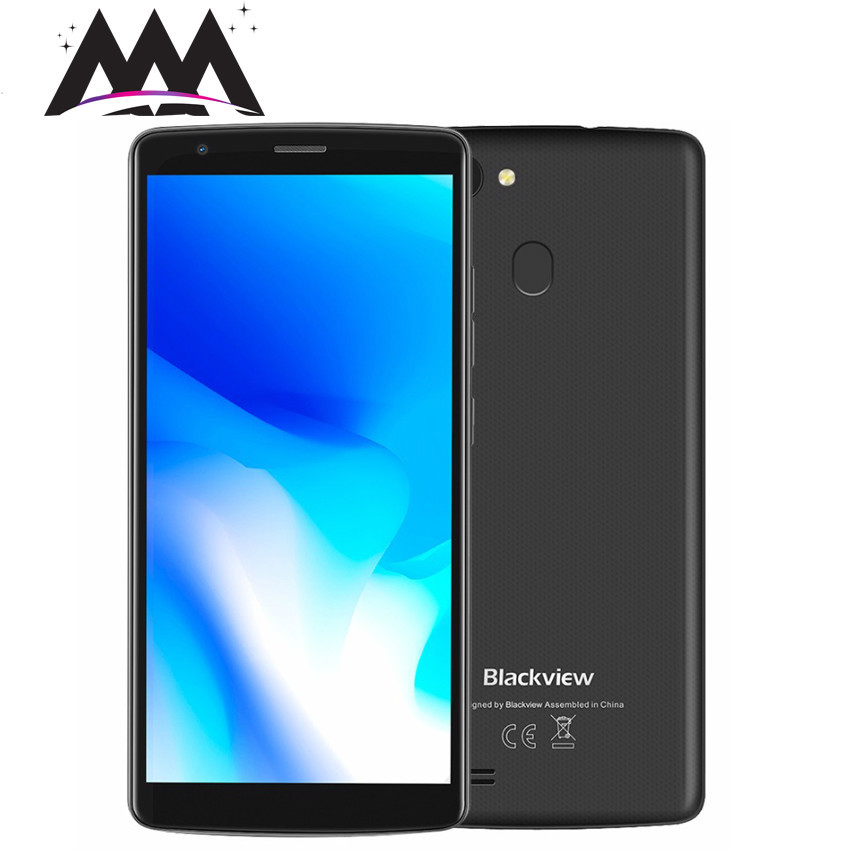 Купить Blackview A20 Pro 4G смартфон Android 8,1 2 GB + 16 GB 4 ядра сотовые телефоны двойной назад Камера 5,45