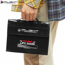 High Quality iFlight 1Pc Fireproof Retardant RC LiPo Battery Pack Portable Explosion Proof Safety Bag 240X180X65mm(China)