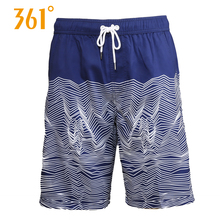 361 Mens Board Shorts Swimming Surfing Beach Pants Sports Quick Dry Trunks Boxer Swim Suit Male Wear