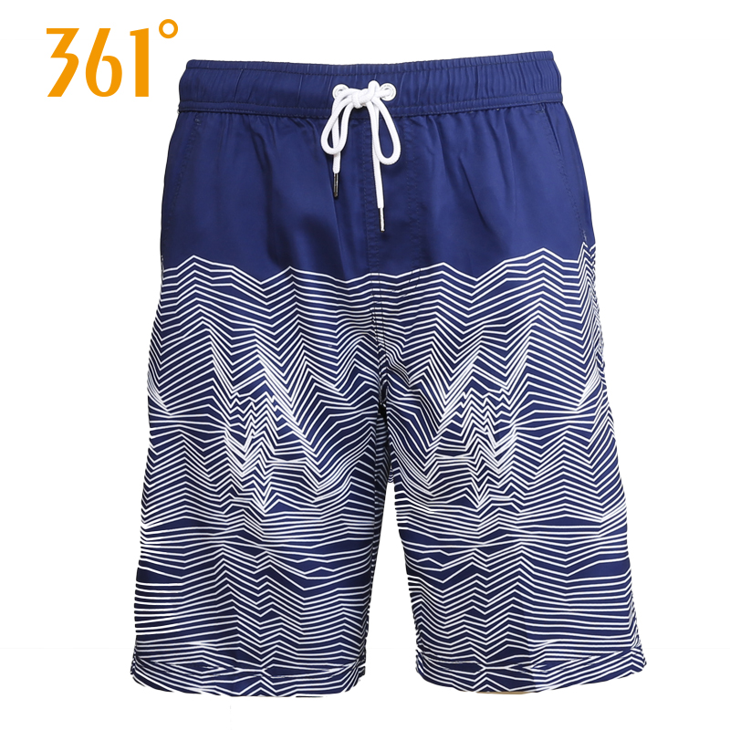 361 Men's   Board     Shorts   Swimming Surfing Beach Pants Mens Sports Quick Dry   Shorts   Swimming Trunks Boxer Swim Suit Male Swim Wear