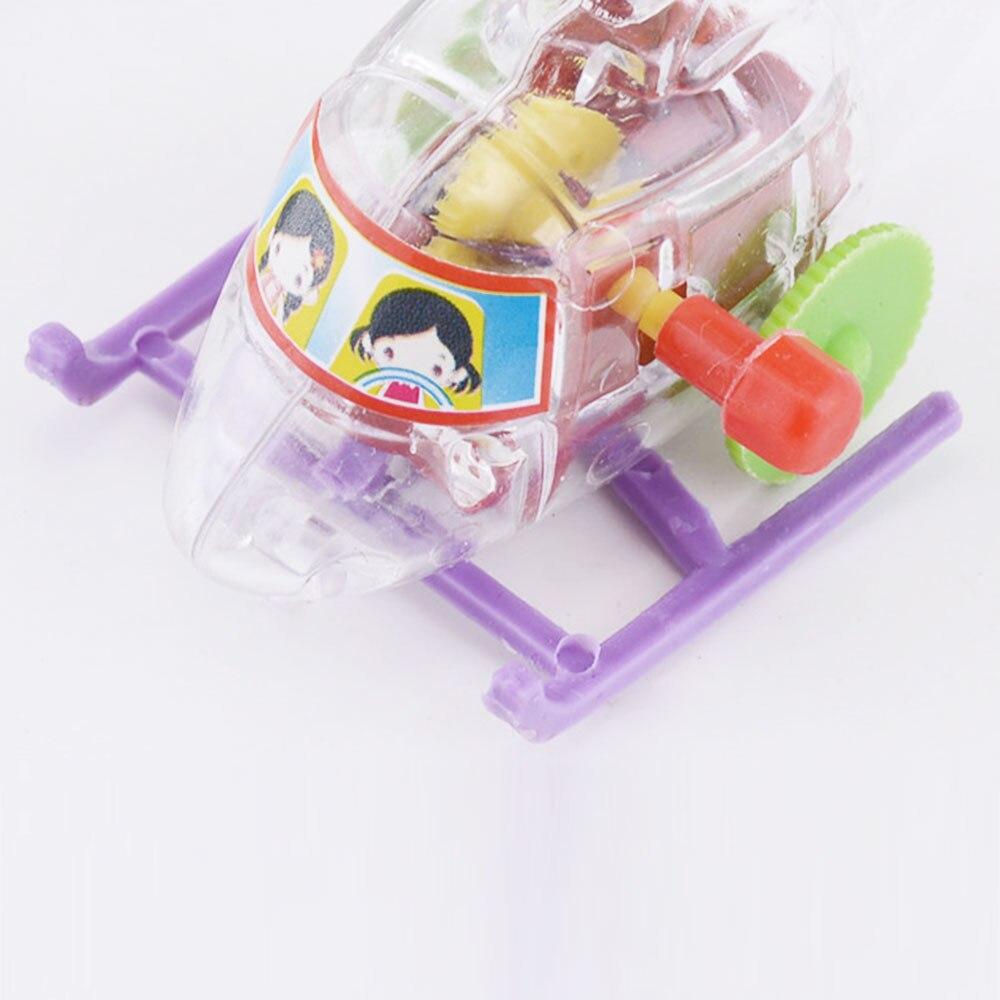 Игрушечный часовой механизм самолета, игрушки для минисамолет, цветные пластиковые подарки, игра в самолет, забавные детские вертолёты для улицы
