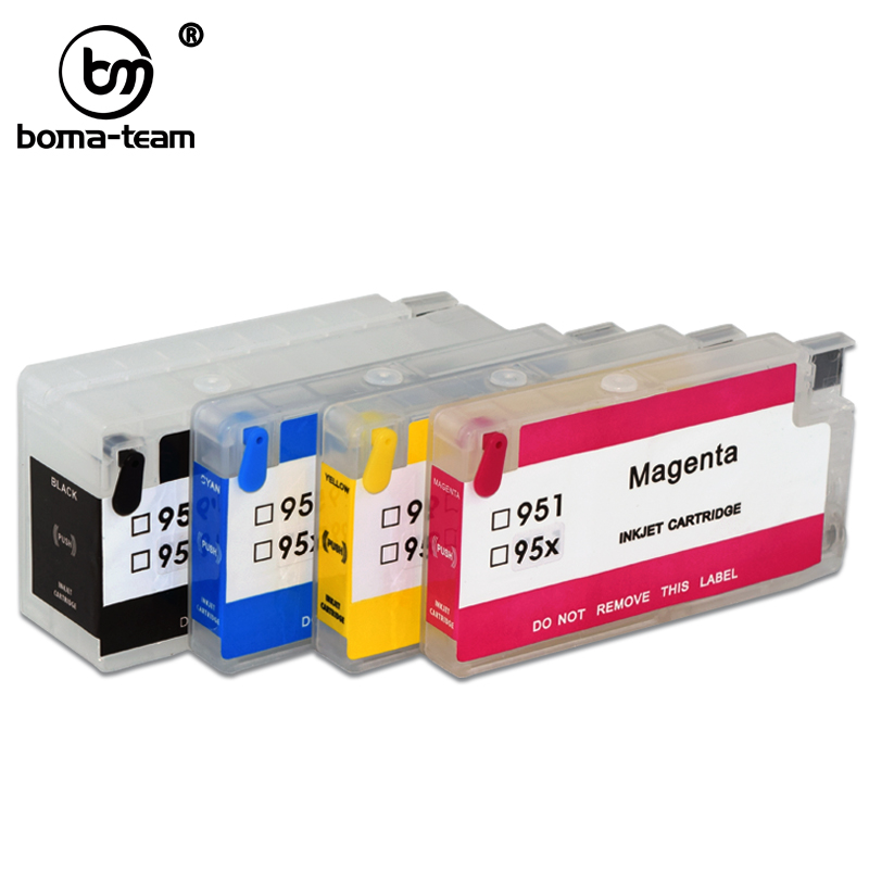 952 xl <font><b>953</b></font> 954 955 <font><b>Refillable</b></font> Ink Cartridge For Inkjet officejet Pro 7720 7740 8210 7616 8710 8715 8720 8725 8730 8740 Printer image
