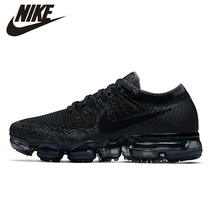 цены на NIKE Air VaporMax Original New Arrival Men Running Shoes Mesh Breathable Massage Outdoor Support Sports Sneakers #849558  в интернет-магазинах
