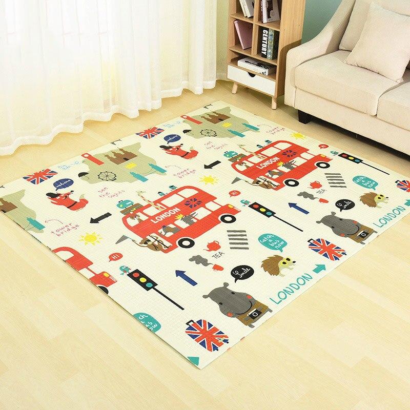 Tapis de jeu bébé Xpe Puzzle 200x180 cm mousse tapis pour enfants épaissi jouets Tapete Infantil enfants ramper tapis développement tapis