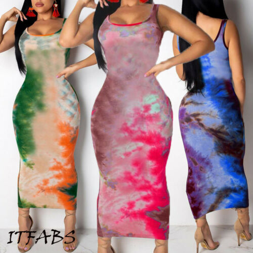 2019 Fasion Womens Ladies Boho Long Maxi Dress Evening Party Beach Bodycon Dresses  Sundress
