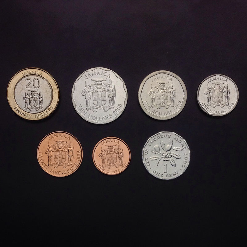 5+10+20+50 Ouguiya 2009-2010 Mauritania Set 4 Coins A-UNC
