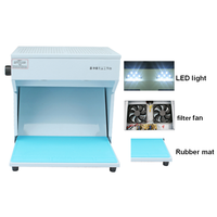 Mini Super Clean Dust Free Room Work Table Mobile Phone LCD Screen Repair Machine Cleaning Room with Rubber Mat