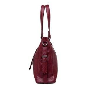 Image 2 - 2 pc/s Lüks Çanta Kadın Çanta Tasarımcısı Kadın Deri omuzdan askili çanta Bayanlar El Çantası Vintage Çantalar Ve Çanta Ana Kesesi yeni