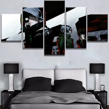 Hot Sell 5 Piece HD Print Tokyo Ghoul Anime Cuadros Decoracion Paintings on Canvas Wall Art for Home Decorations Decor