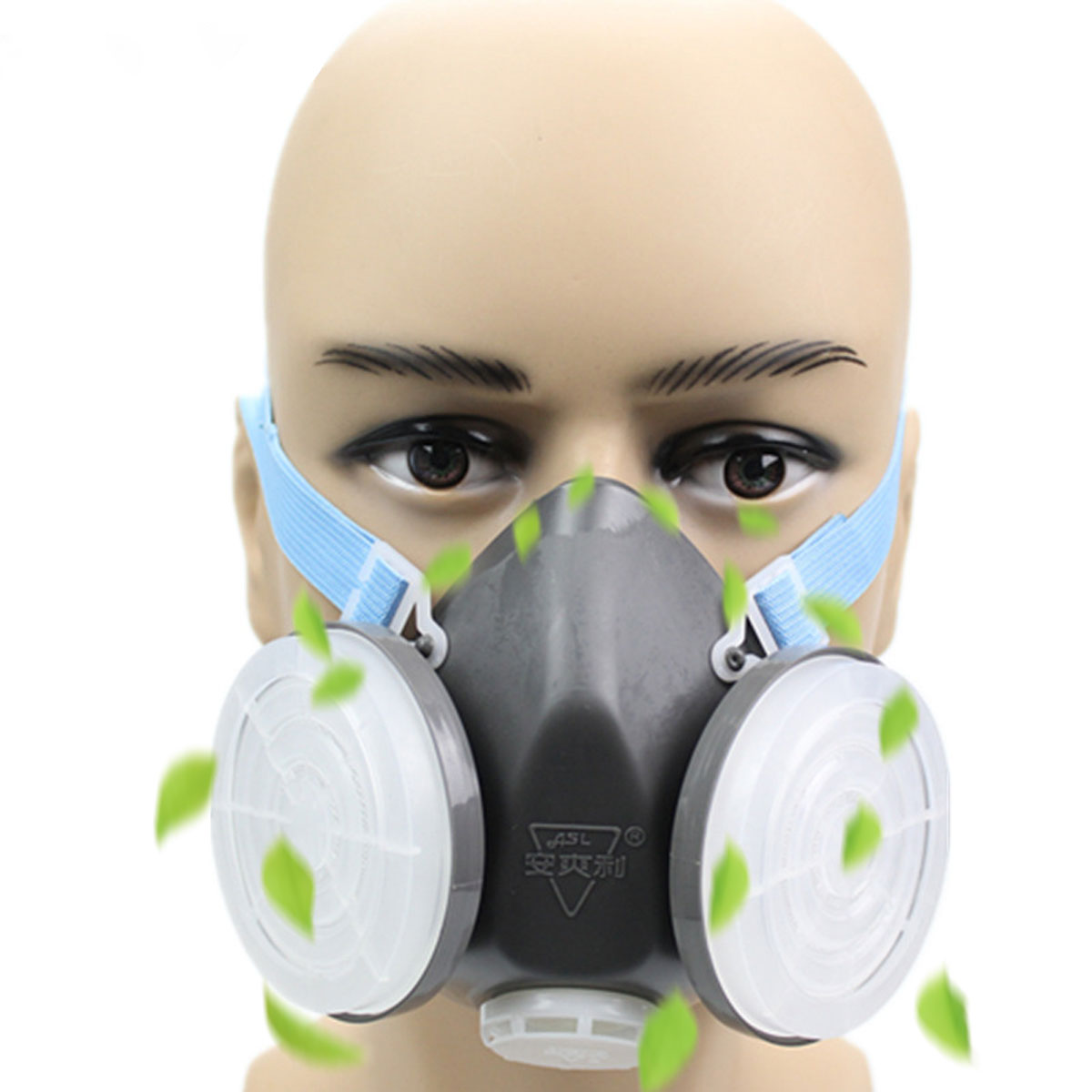 Safurance Dual Anti-Dust Gas Respirator Mask PN2.5 Dust-proof Twin Chemical Spray Paint Workplace Safety Headwear MaskSafurance Dual Anti-Dust Gas Respirator Mask PN2.5 Dust-proof Twin Chemical Spray Paint Workplace Safety Headwear Mask