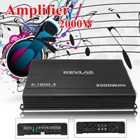 4 Channel 2000 Watts Professional Power Amplifier AMP Stereo GTD Audio