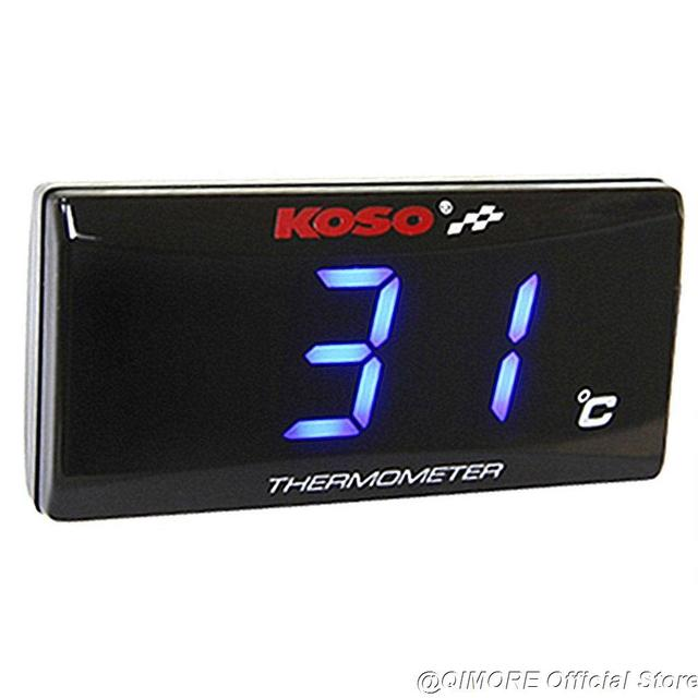 Scooter Slimline KOSO termómetro de agua/medidor de temperatura de agua pantalla LED con Sensor de rosca de 10mm