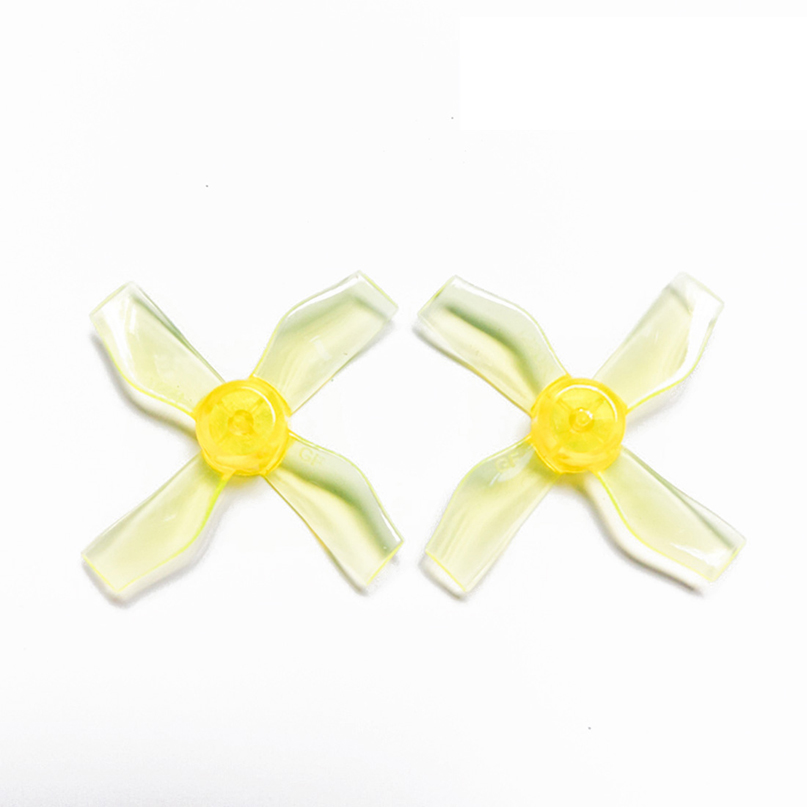 4Pairs <font><b>1220</b></font> 1.2x2x4 31mm 1mm Hole 4-blade Propellers PC CW CCW Props for 0703-1103 RC Drone FPV Racer Brushless <font><b>Motor</b></font> image
