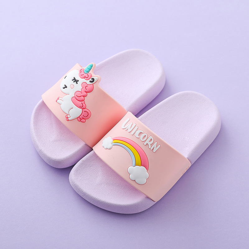 Mini Melissa Unicorn Boys Girls Slippers  2019 Sandals Children Jelly Sandals Kids Sandal Girls Jelly Shoes Melissa Flip Flop