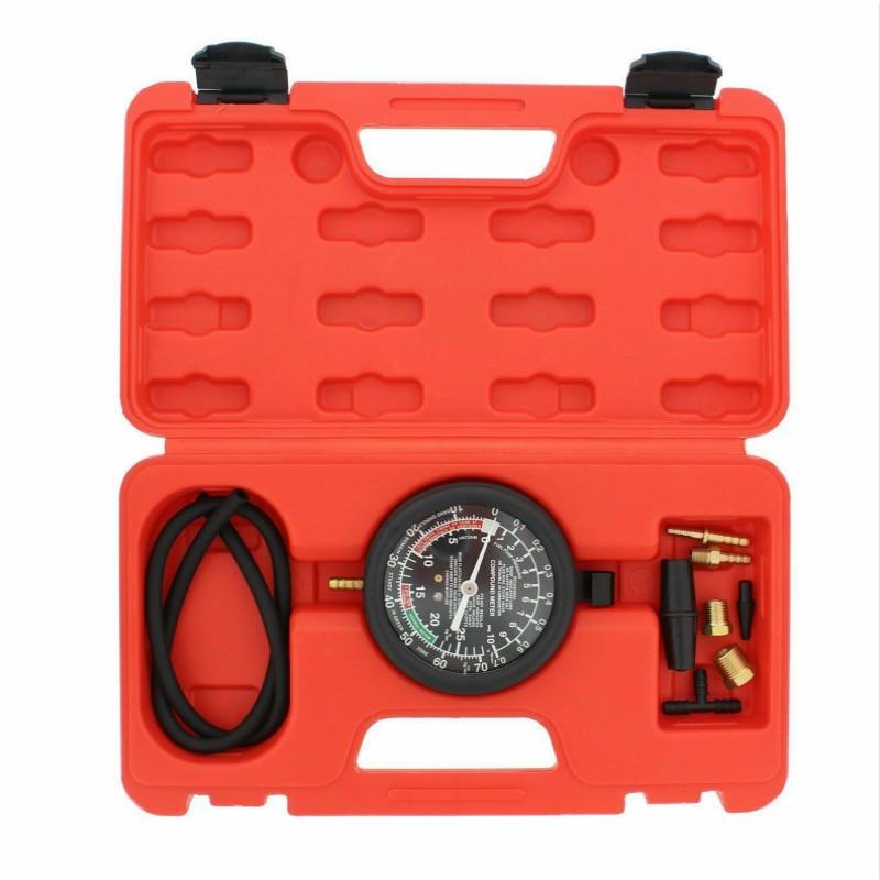 Joint Cylinder Pressure Gauge Auto Car Fuel Pump Vacuum Tester Leak Carburetor Diagnostics With Case Car-styling