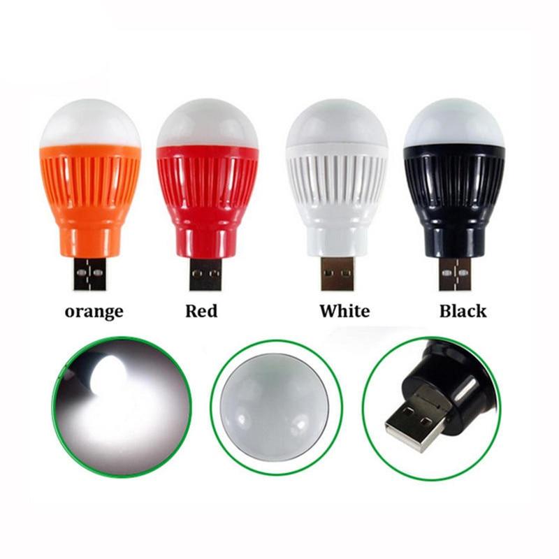 SXZM 3W DC5V USB Led Night Light USB Led Bulb 4 Color Night Lamp Emergency Lighting Portable Led Bulb Tent Camping Lamp Dropship