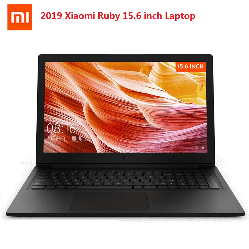 Original Xiaomi Mi Ruby 15.6 Inch Laptop Windows 10 Intel Core I5-8250U Quad Core 8GB 512GB 1.6GHz MX110 Notebook PC
