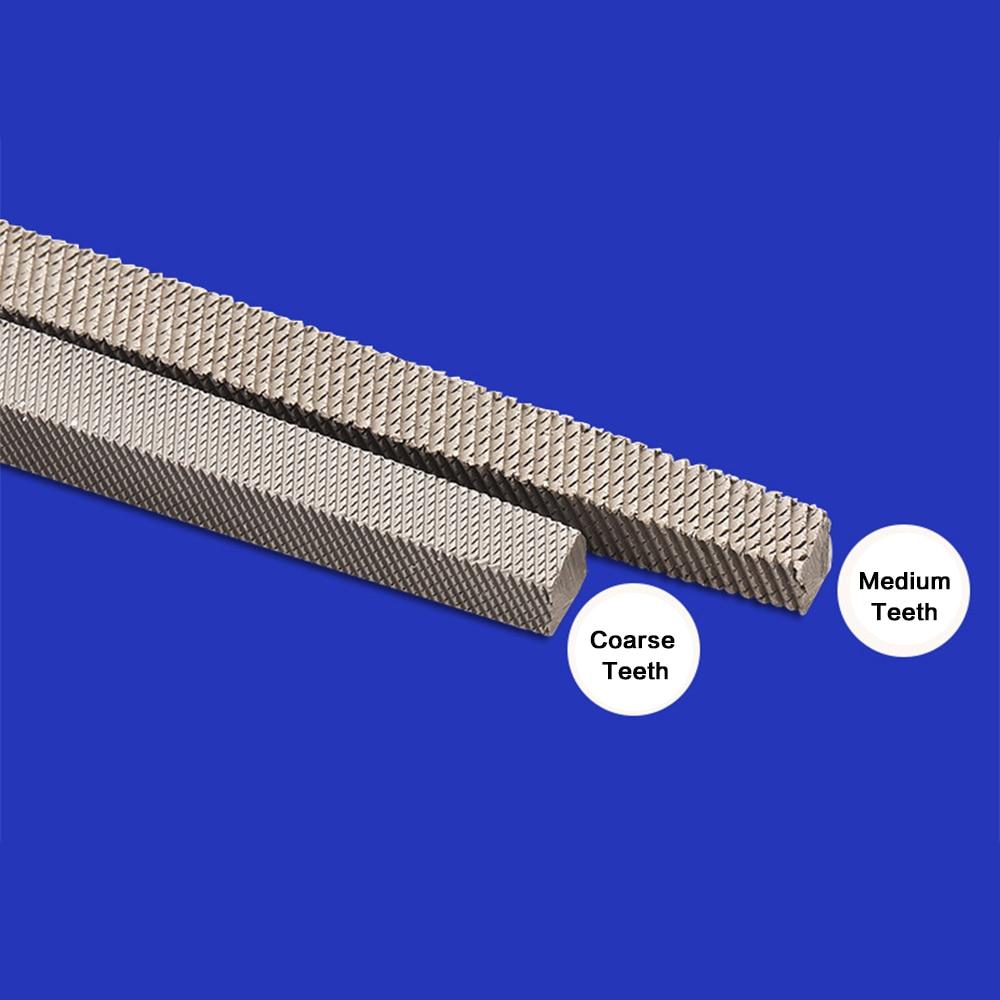 Shina 1Pc 4/6/8/10/12inch square needle file Diamond Files/hand tool files/metal Rasps