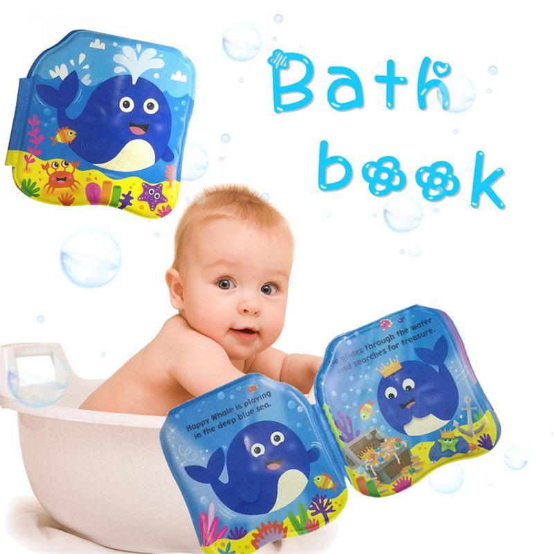 Bath Books Water Toy Baby Shower Gift Kids Educational Bath Toys 4