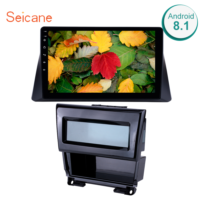 Seicane Android 8.1 10.1 inch Car Radio <font><b>GPS</b></font> Multimedia Player For <font><b>2008</b></font> 2009 2010 2011 2012 Honda <font><b>accord</b></font> 8 Support DVR OBD2 RDS image