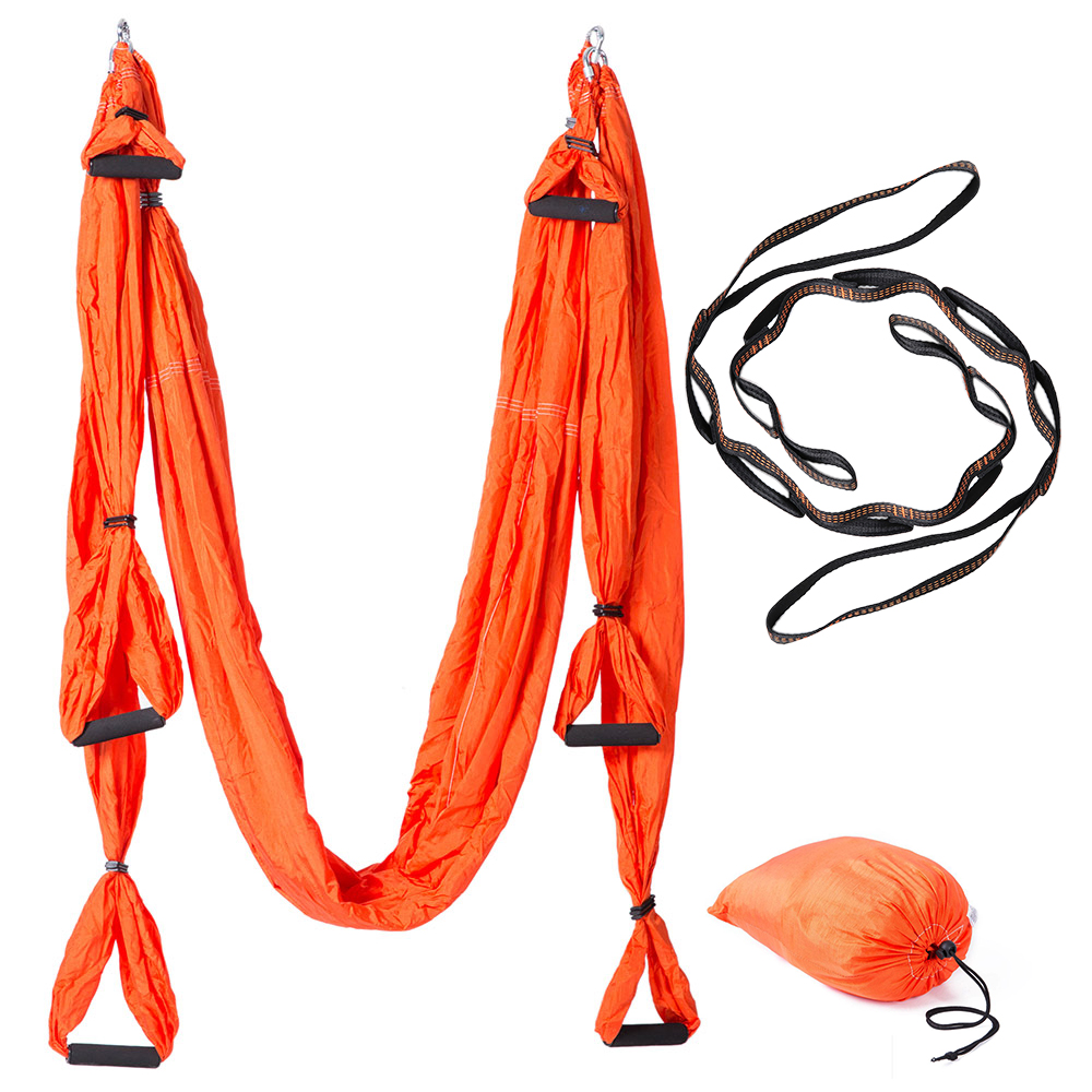 Home Storage & Organization 1pc Yoga Swing Hooks Solid Portative 304 Stainless Steel Effective Durable Training Hook For Trapeze Rope Training