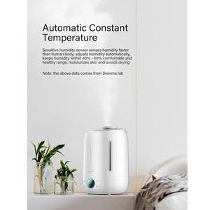 Image 4 - Deerma diffuseur darôme et humidificateur dair Original, brumisateur ultrasonique, 5l, pour la maison écran tactile Led
