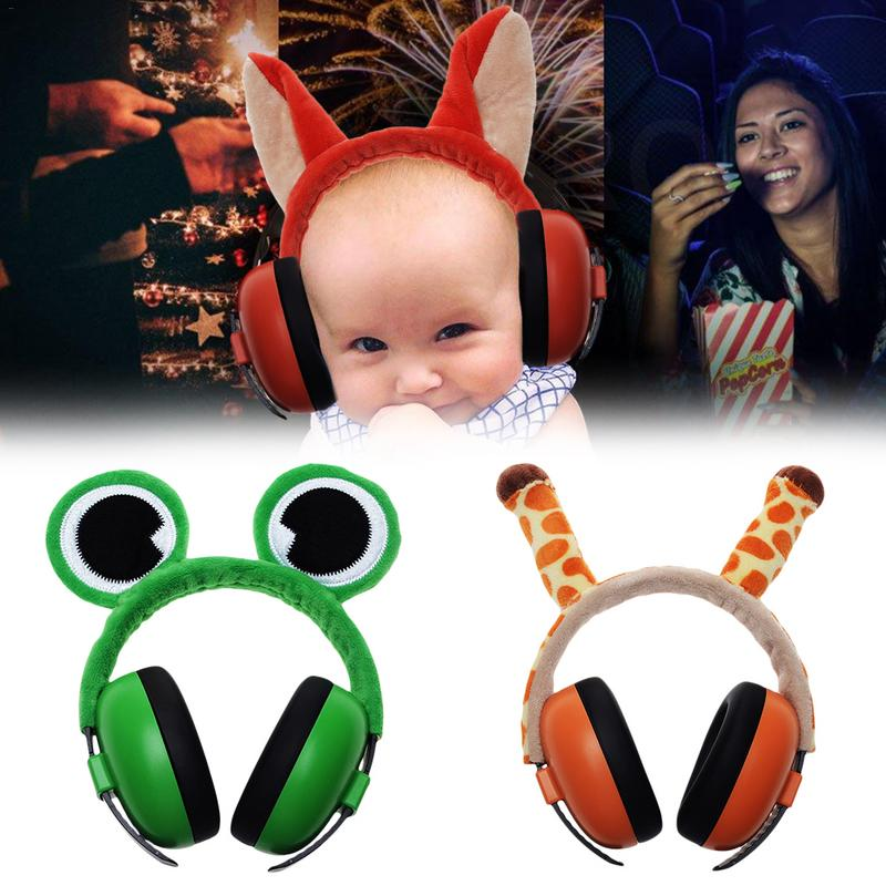Anti-Noise Earmuffs Headphones Noise Cancelling Headphones Hearing Protection For Babies Ear Care Supplies