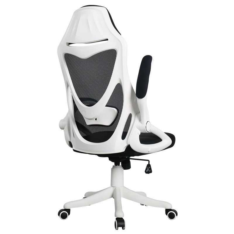 Cloth Computer Chair Multifunction Flexible Gaming Lifted Rotation Office Stool Mesh Breathable Soft Boss