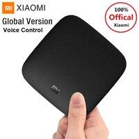 Xiaomi MI TV BOX 3 Android 6.0 Smart TV Box 4K Ultra HD 2G RAM 8G ROM Set Top Box Bluetooth Voice Control WiFi HDMI Media Player
