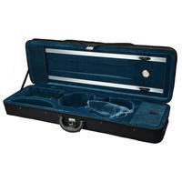 Portable Square Nylon Violin Gig Bag Soft Foam Padded 4/4 Violin Fiddle Carrying Case with Hygrometer Durable Violin Box Bag