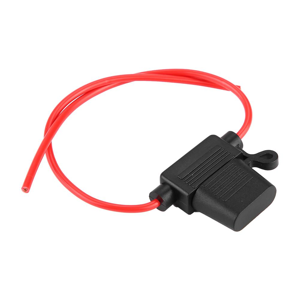 1pc 1-35a 12-32v car inline blade fuse holder box in-line fuses waterproof  for car auto fuse adapter