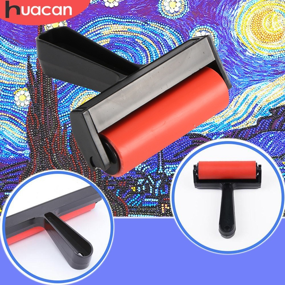 HUACAN Diamond Painting Tool Roller DIY Diamond Painting Accessories Plastic Roller Diamond Embroidery ToolsHUACAN Diamond Painting Tool Roller DIY Diamond Painting Accessories Plastic Roller Diamond Embroidery Tools