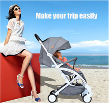 Baby Stroller Delivery Light Folding Sit or Lie High Landscape Suitable 4 Seasons High Demand Pushchair Travel Carry On Plane