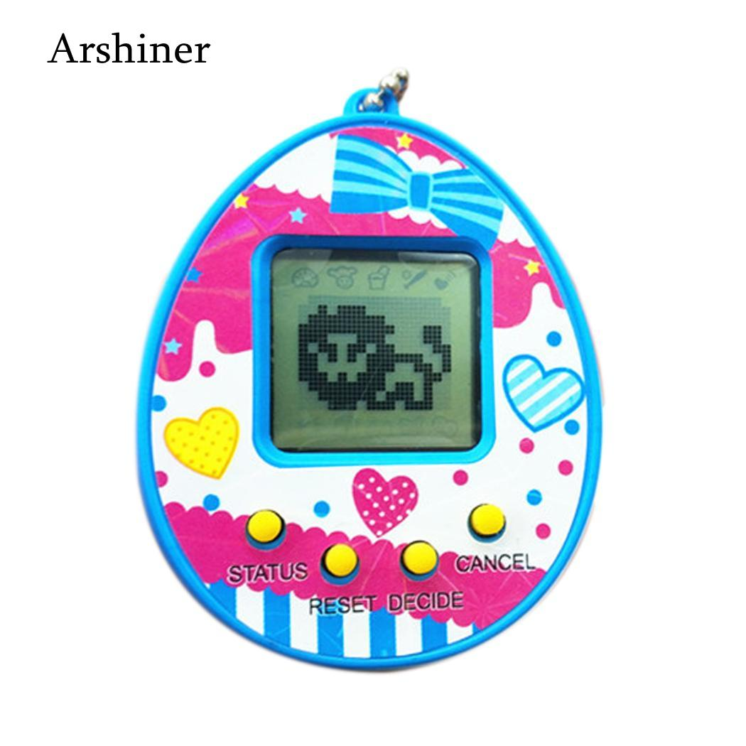 5V Funny Unisex Batteries Game Toy Pet Electronic 3 Multicolor Kids Years Button Virtual Included Tamagotchi 2 1 Machine