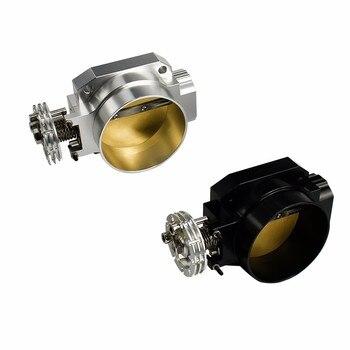 85 มม. Universal Throttle Body Intake สำหรับ nissan RB25 fit racing intake manifold sliver/สีดำ YC100850